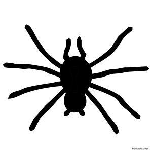 Printable Halloween Spiders