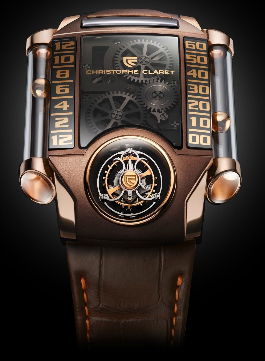 Christophe claret xtrem chocolate watch by ariel adams did