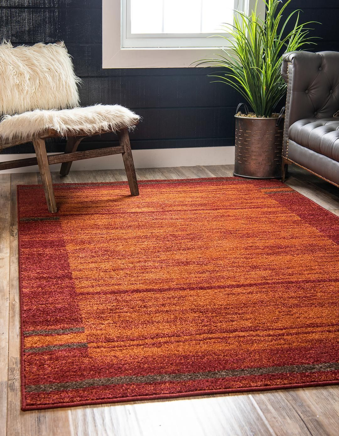Terracotta 9 X 12 Equinox Rug Area Rugs Rugs Com Unique Loom Red Rugs Area Rugs For Sale