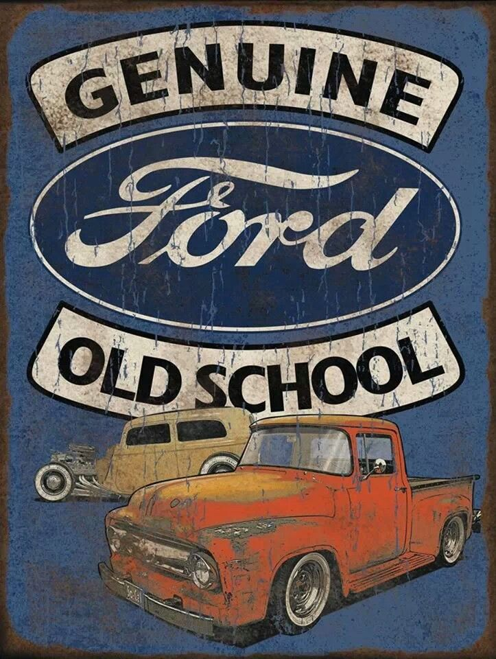 Ford sign camiones pinte for Garage ford 78 plaisir