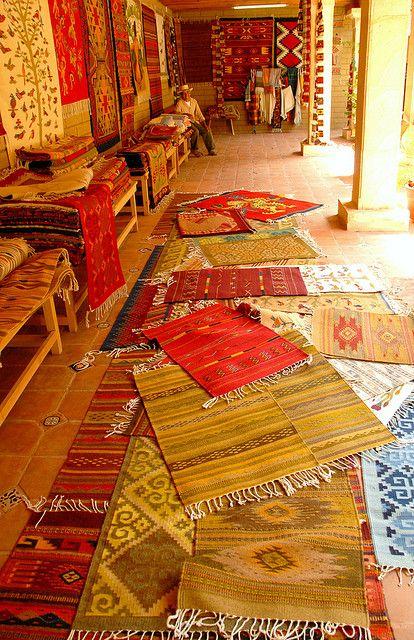 Zapotec Rugs Oaxaca Oaxaca Oaxaca Mexico Mexican Textiles