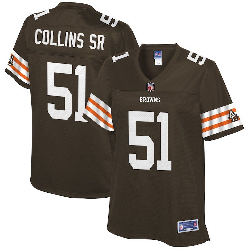new concept 6e7e5 3eee7 Jamie Collins Cleveland Browns NFL Pro Line Women's Historic ...