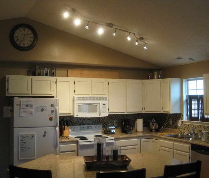 Bright Kitchen Lighting Ideas: Track Lights In Kitchen For A Cool And Stylish Kitchen