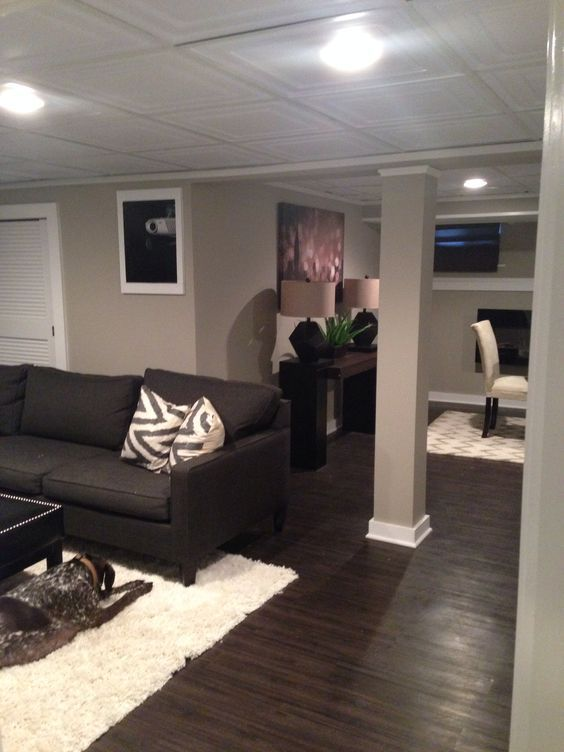 basement inspiration home basement remodeling small basement remodel on kitchen remodel dark floors id=78455
