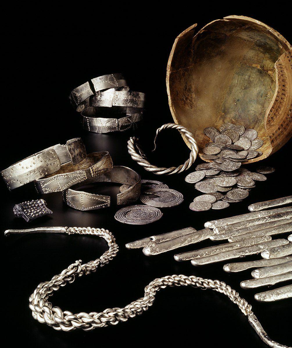 Ancient Money Ingot Viking Treasure Wallet Middle Ages LARP Medieval Money Silver Blanks Coins Silver Valuable Purse Silver Scrap