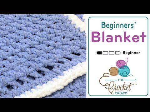 How to Crochet for Beginners: Baby Blanket | Crochet | Pinterest