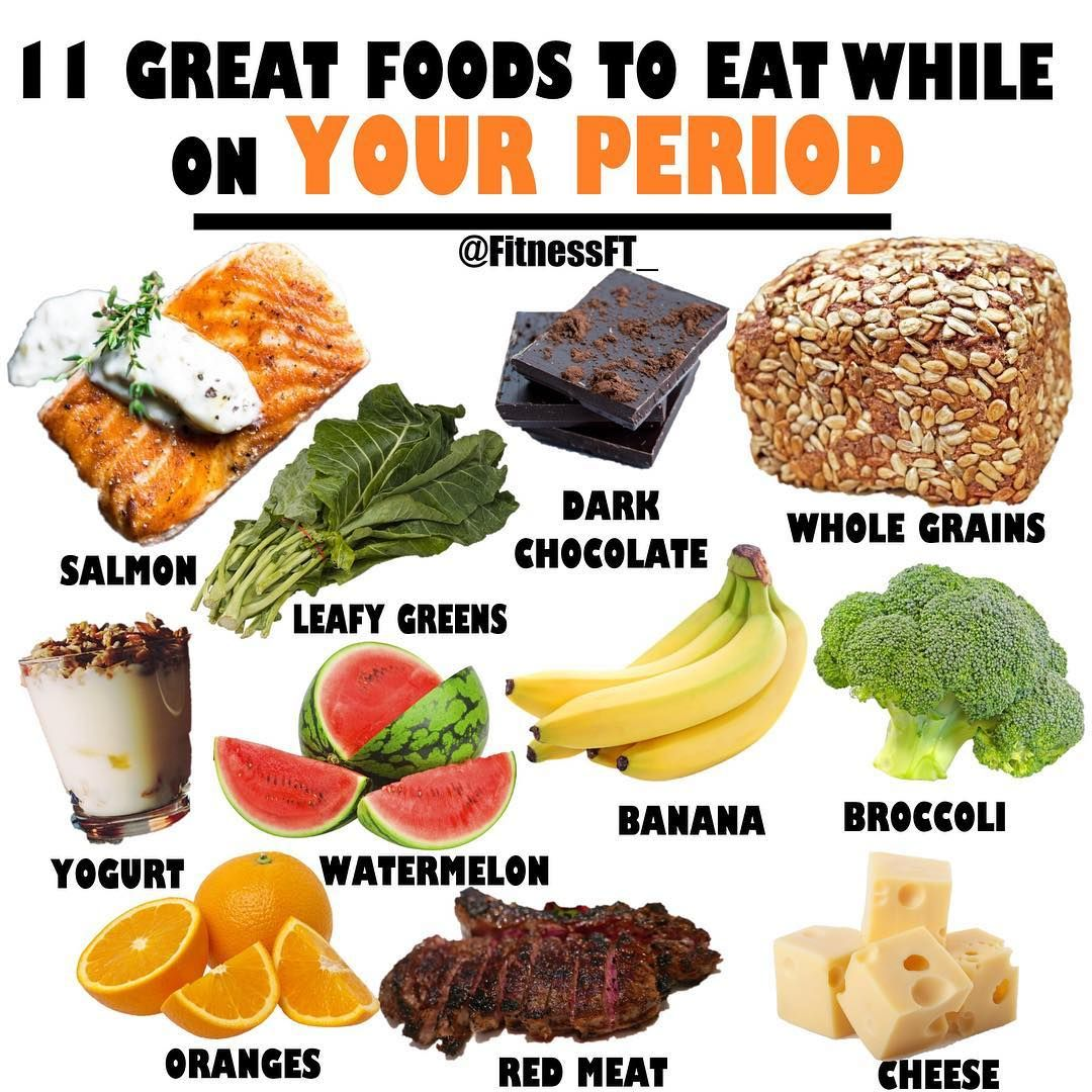 11 Great Foods To Eat While On Your Period Healthy Period Food Healthy Period Food For Period