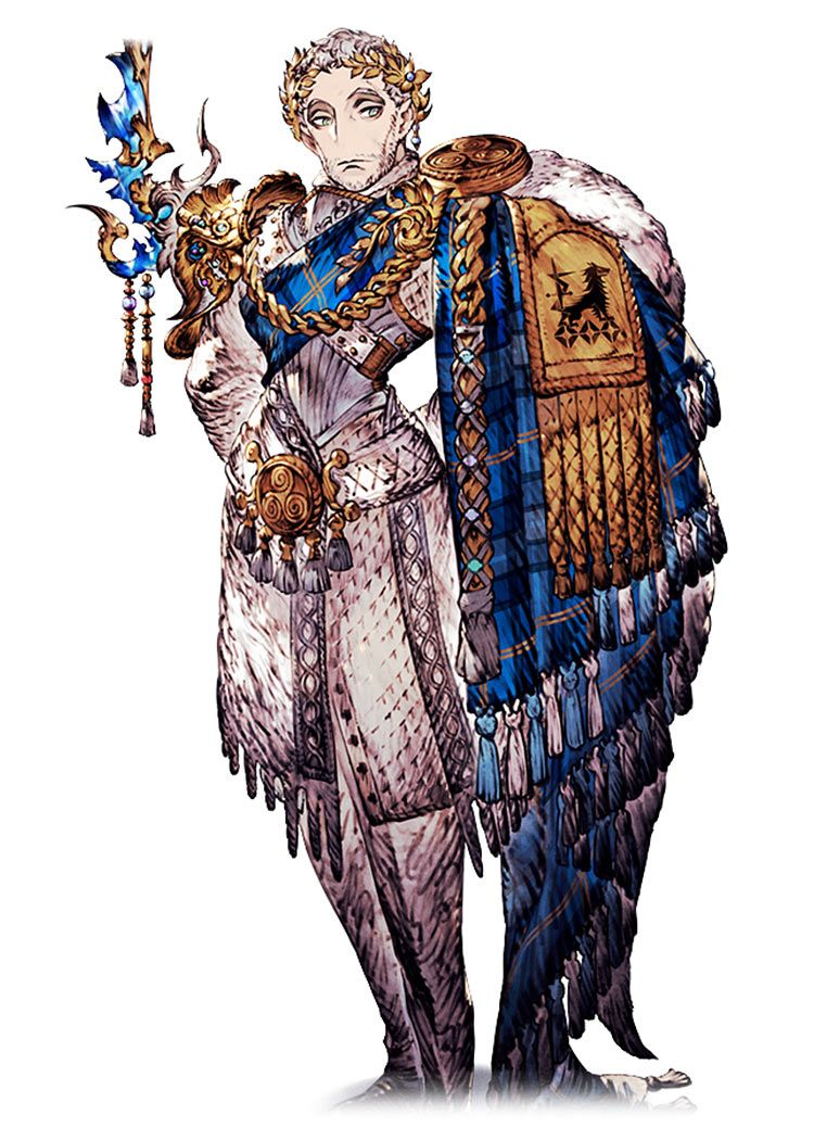 Khury Wezette Character Art from War of the Visions Final