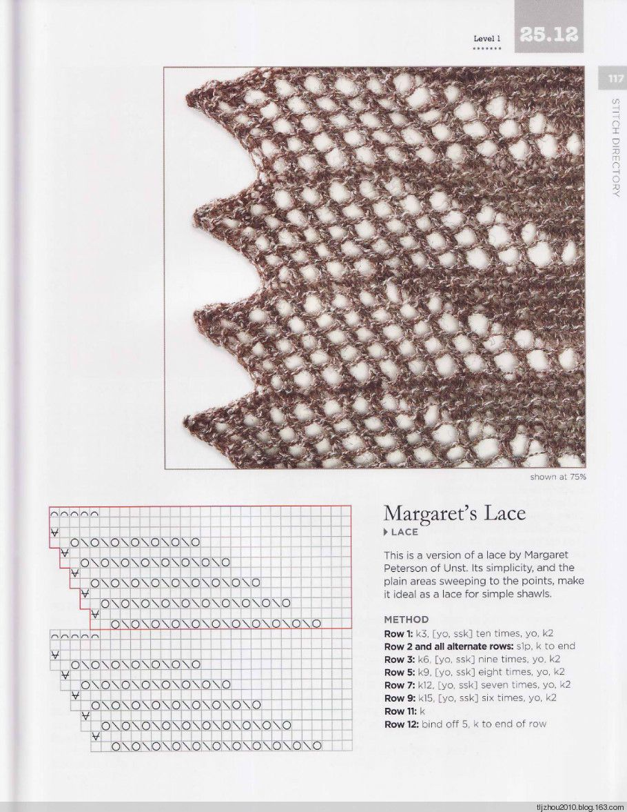 The Magic of Shetland Lace Knitting - 紫苏 - 紫苏的博客   Puntos ...
