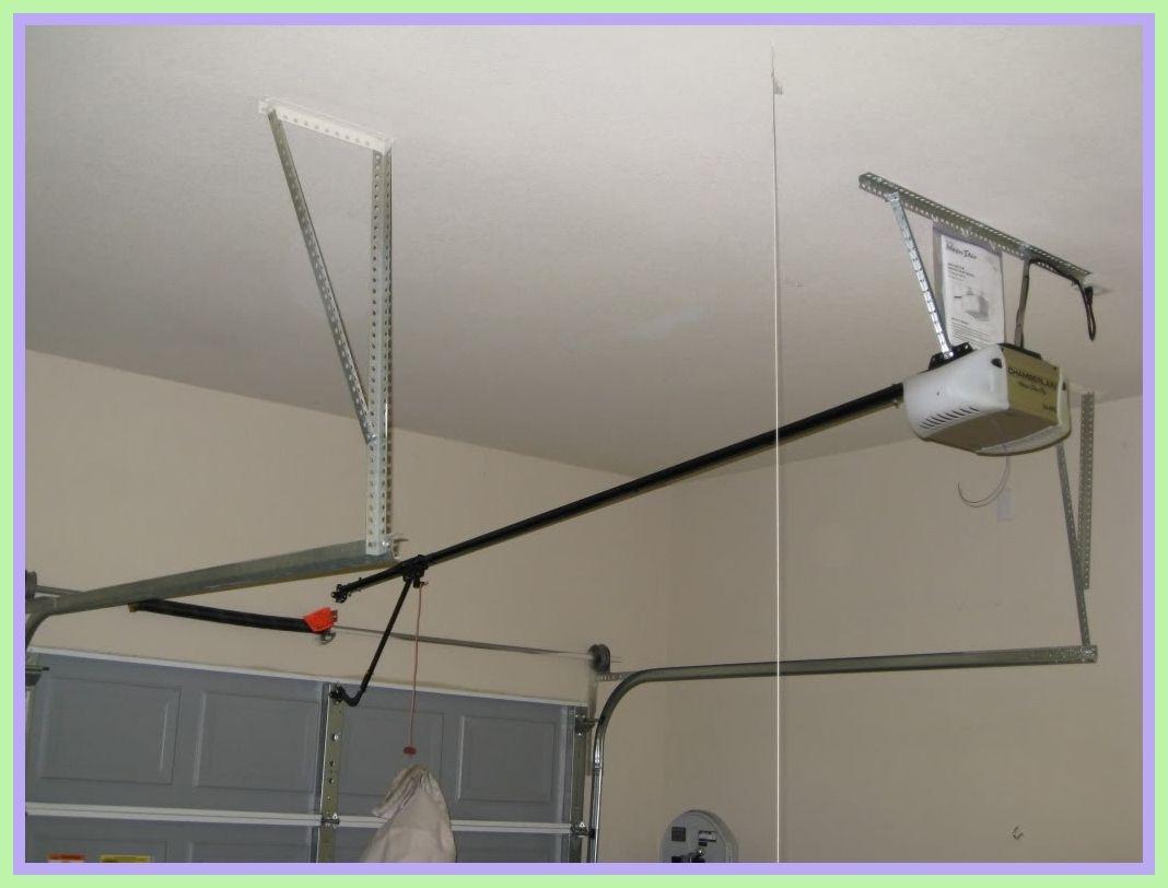 87 Reference Of Garage Door Opener Mounting Bracket Lowes In 2020 Garage Door Opener Installation Garage Doors Garage Door Opener