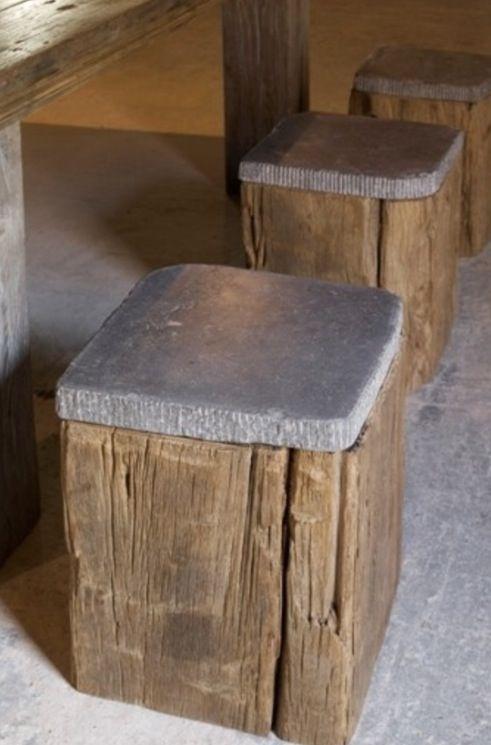 Hocker (Concrete Furniture Designs) | Bricolage | Deco, Beton und ...