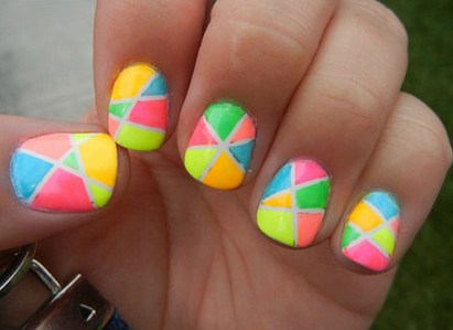 If You Really Like Colorful Nails For Your Short Nails Then This