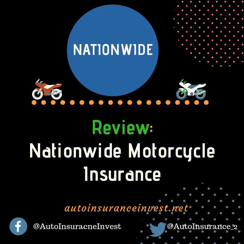 Nationwide Motorcycle Insurance Best Review 2018 Comprehensive