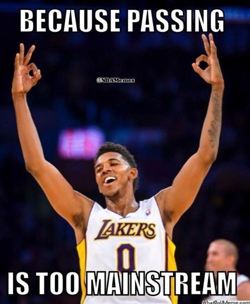 Nick Young The New Lakers Ballhog Http Weheartnyknicks Com