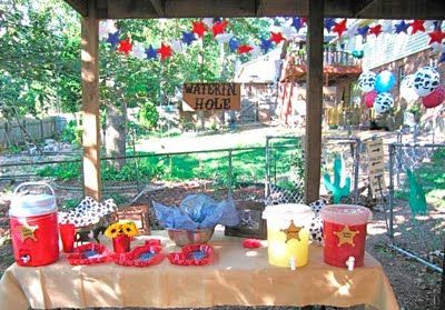 cute ideas for a western themed party - Western Party Decorations