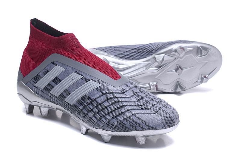 official photos 95705 d686b Botas de fútbol adidas Predator 18.1 FG - Pogba Gris Rojo