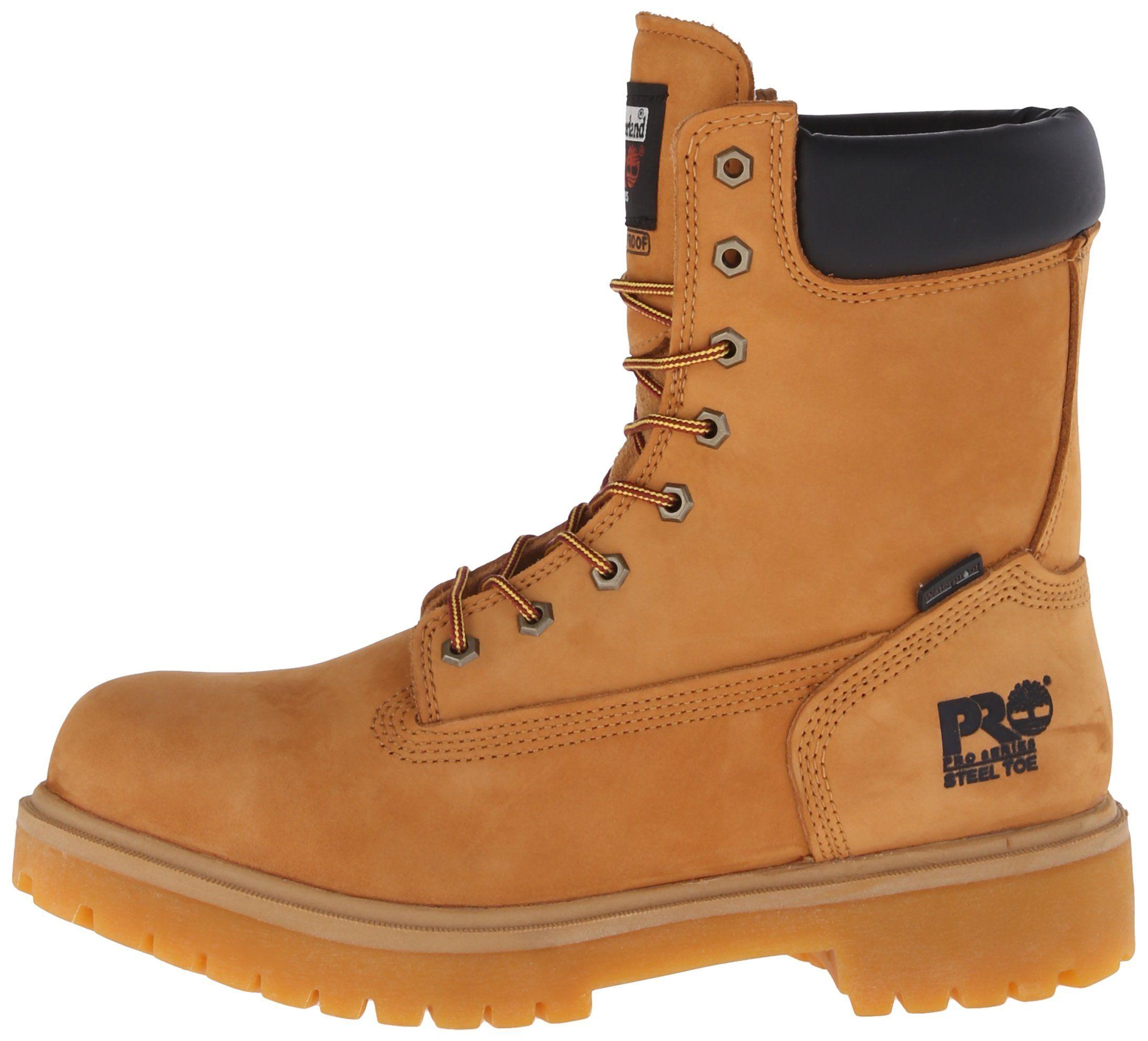 90ac44789f9 Timberland PRO Mens Direct Attach 8 Steel Toe BootWheat9 W -- Click ...