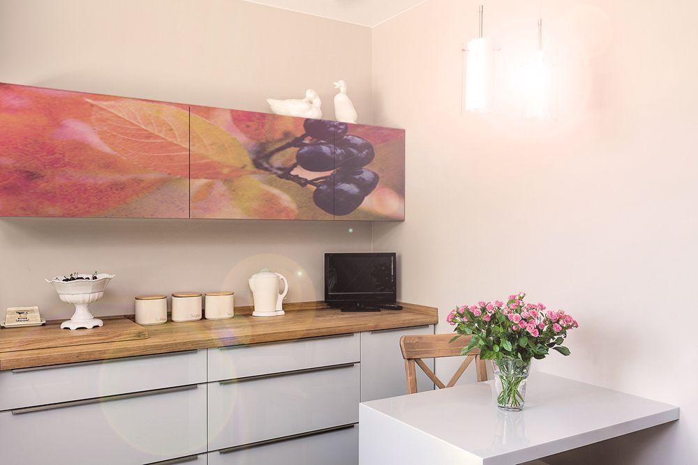 Frühling in der Küche! Küchenfolie Klebefolie creatisto