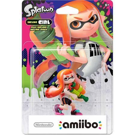 Nintendo Splatoon Series Amiibo Inkling Girl Walmart Com Amiibo Nintendo Amiibo Splatoon