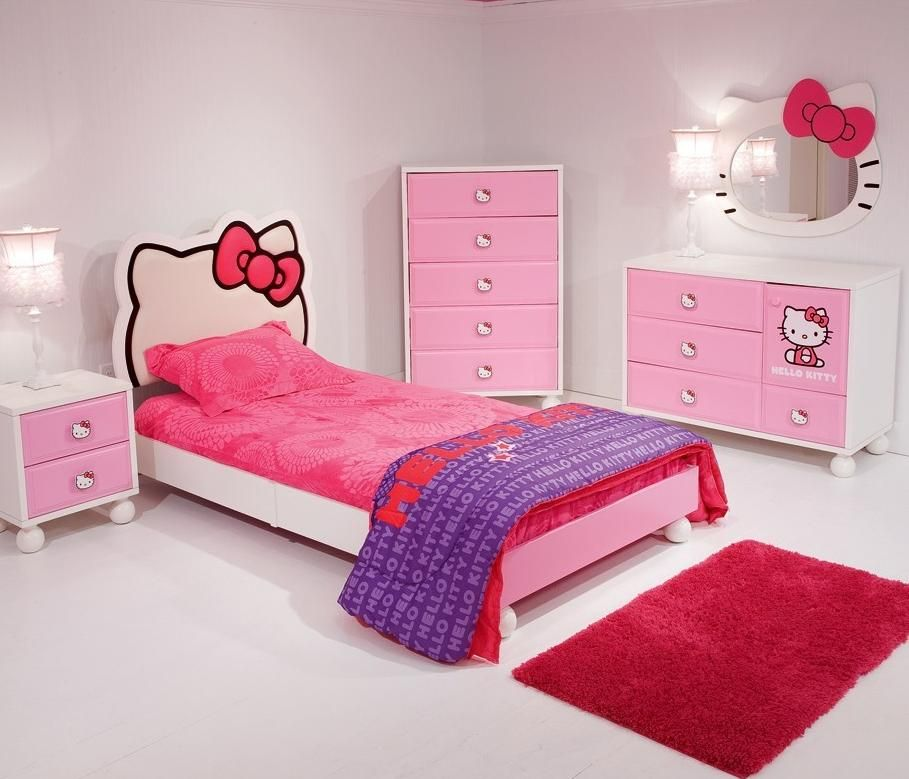 Furniture The Great Design Of Hello Kitty Furniture With Pink
