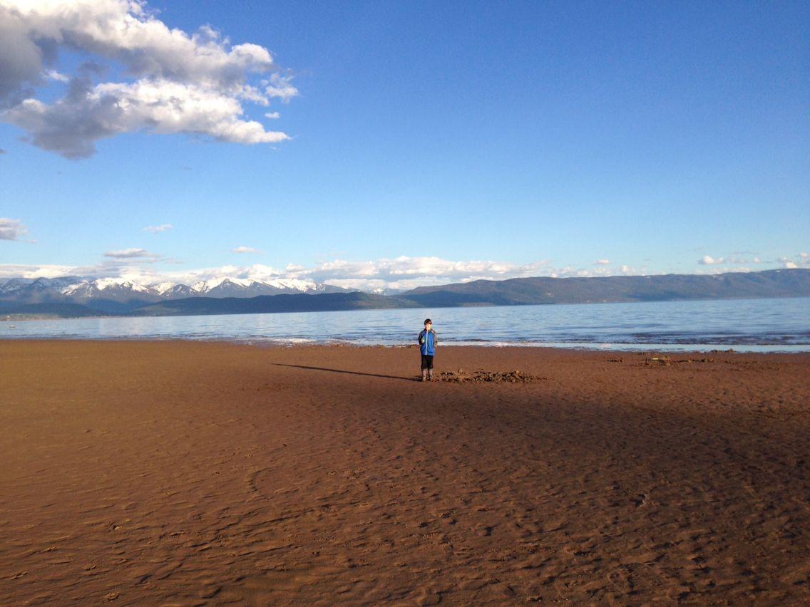 Flathead beach