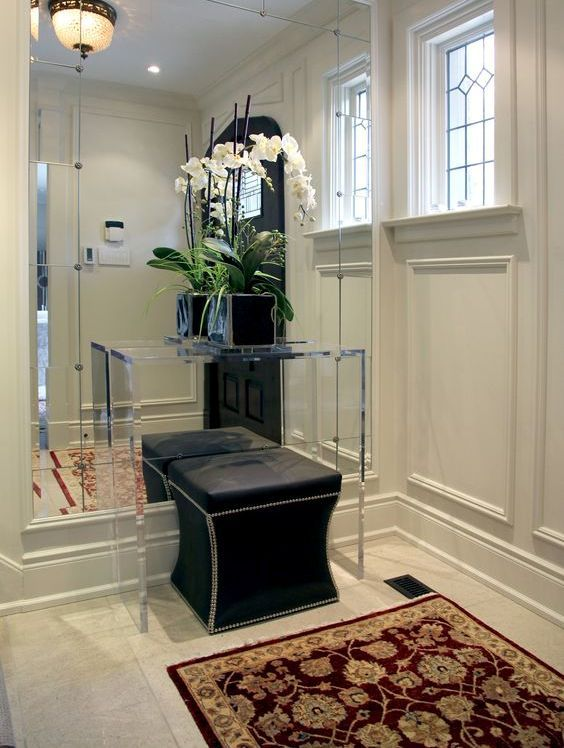 25 edgy and cool mirrors for your entryway with images on ideas for decorating entryway contemporary wall mirrors id=16859