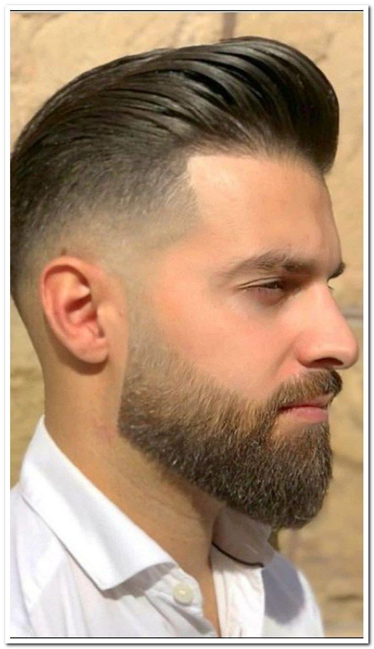 23 Best Short Hairstyles With Beards For Men 2019 00018 Talkinggames Net Barbershophaircuts Coiffure Homme Coiffure Homme Barbe Coiffure Homme Court