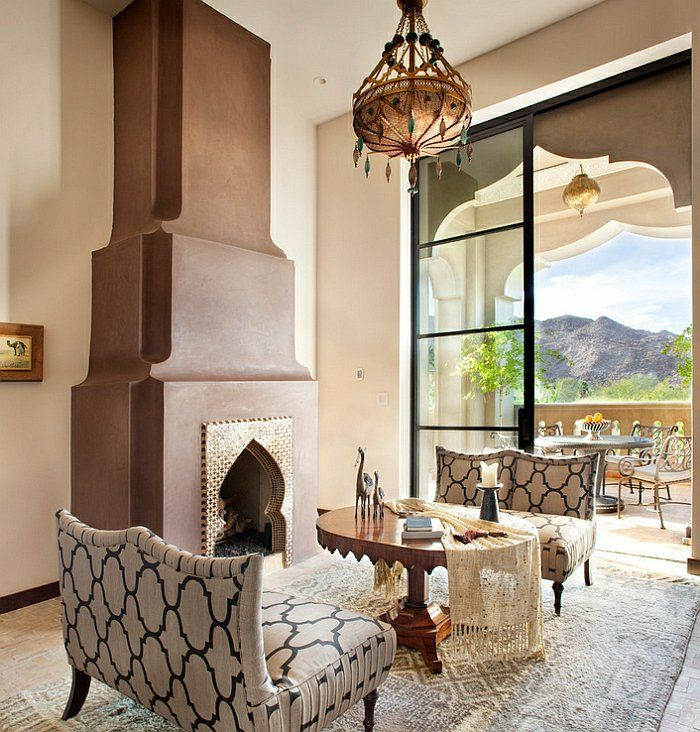 Le canapé marocain qui va bien avec votre salon archzine fr