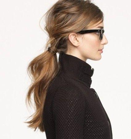 pony hair style