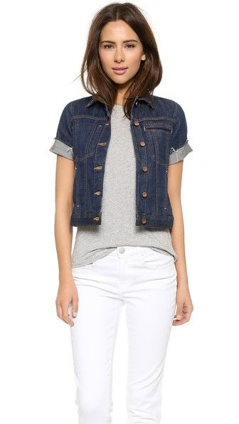 Blondie Short Sleeve Denim Jacket | Denim jackets, Los angeles and ...