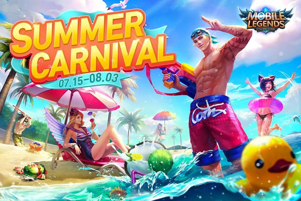 1070+ Gambar Mobile Legend Summer Carnival Terbaru