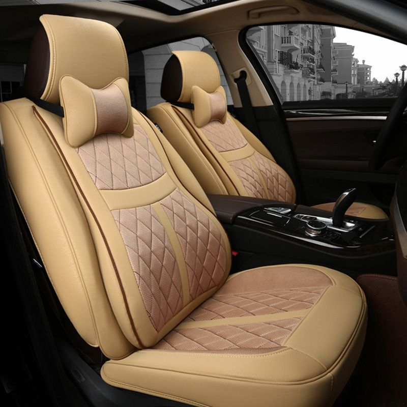 Leather Sports Car Seat Covers For Acura ILX TLX RLX RDX