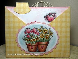 Flower Pots and Tulip