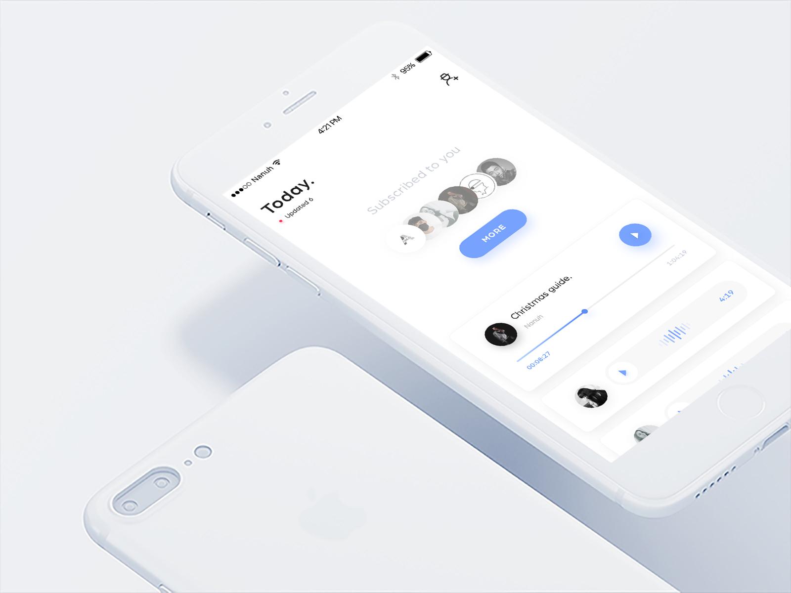 Voice Message UI