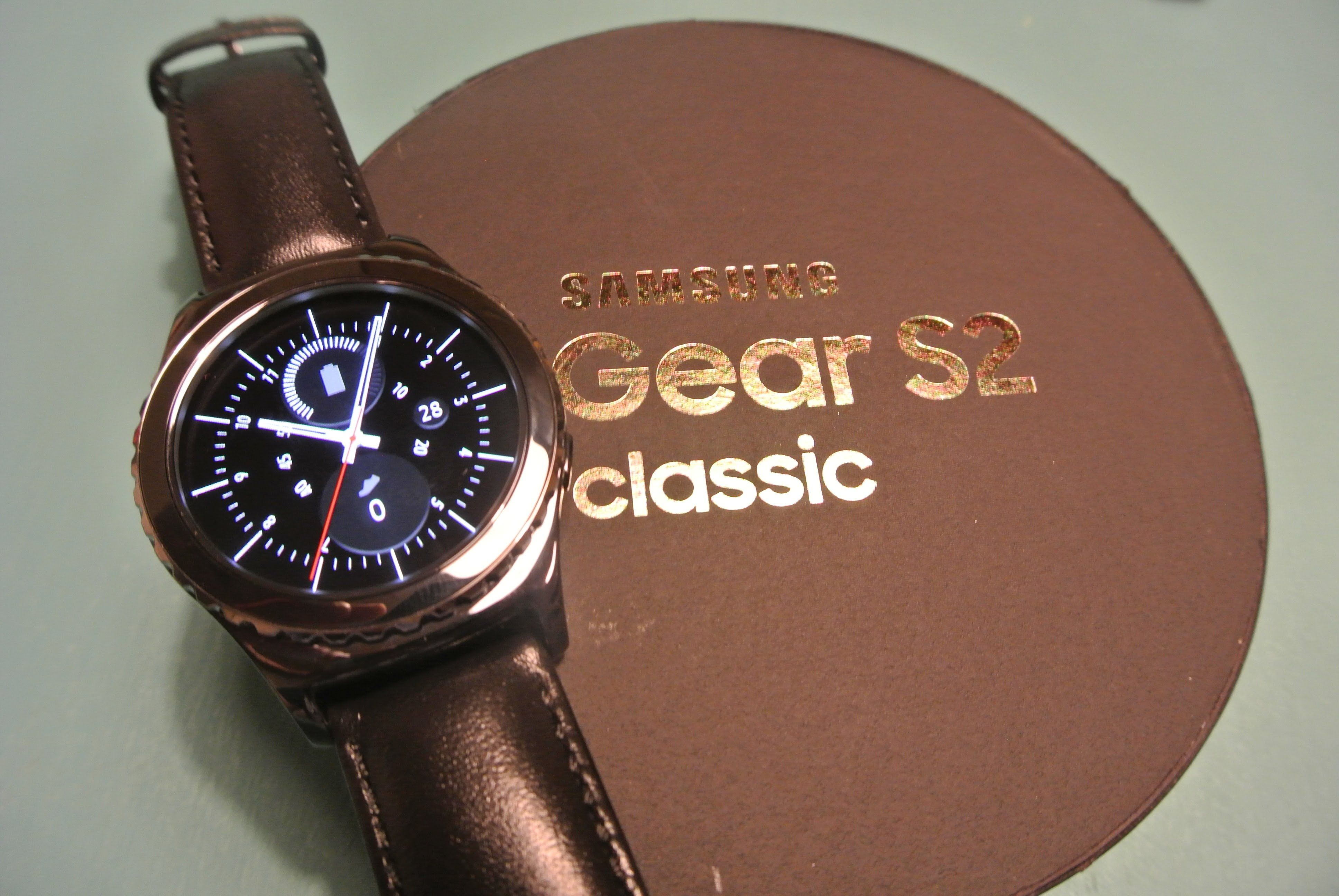 Samsung Gear S2 Classic Unboxing And Setup Samsung Gear S2 Classic Gear S2 Samsung Gear