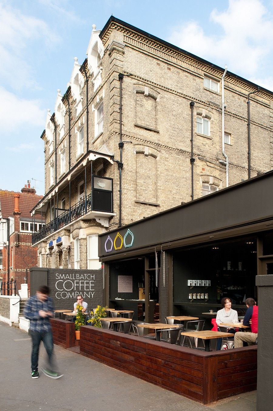 Small Batch Coffee Shop Hove Retail Cafe Pinterest