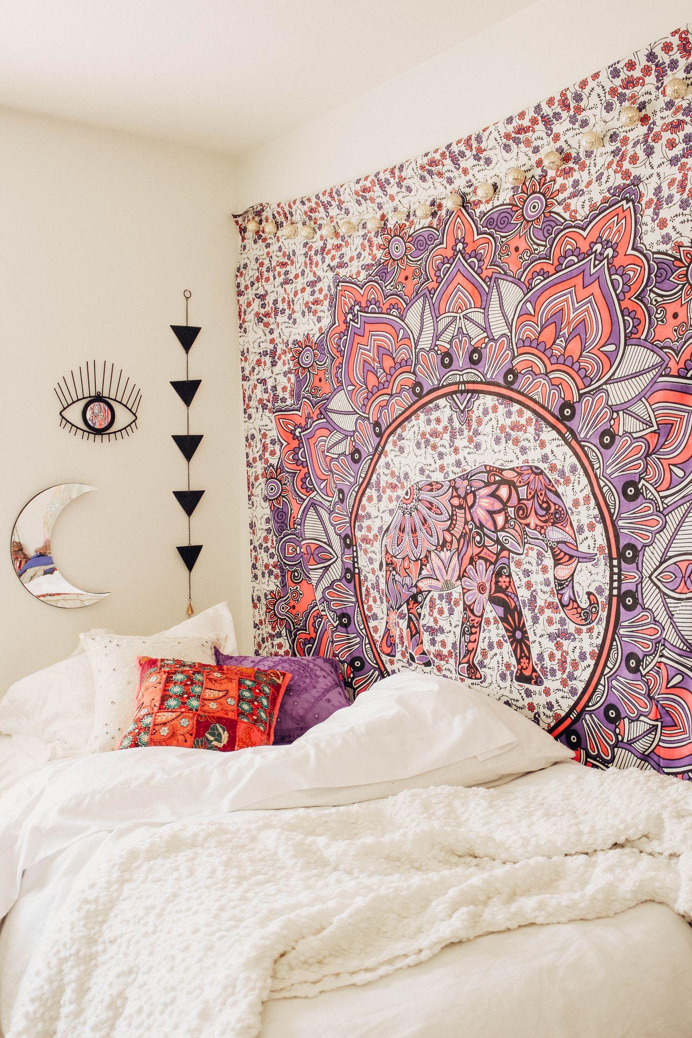 Deja Vu Mandala Tapestry  Decoration, Deco chambre, Decoration