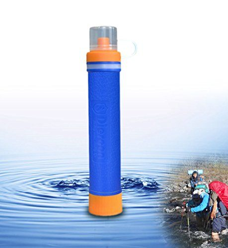 Personal Water Filter Water Straw Water Filtration System Hiking Camping Free Everlasting Survi Water Treatment System Water Filtration System Water Filtration