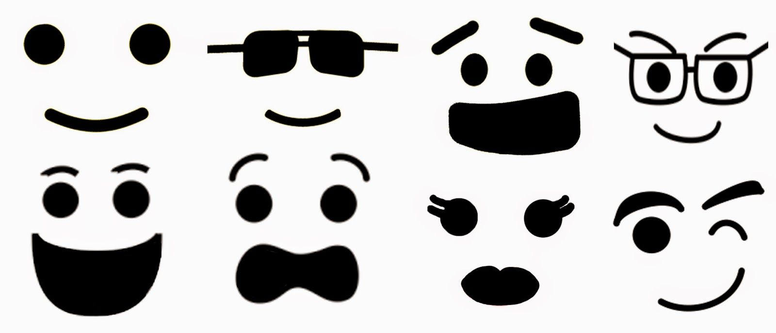 picture about Printable Lego Faces referred to as Lego Minifig faces Print on to apparent sticker paper, then position