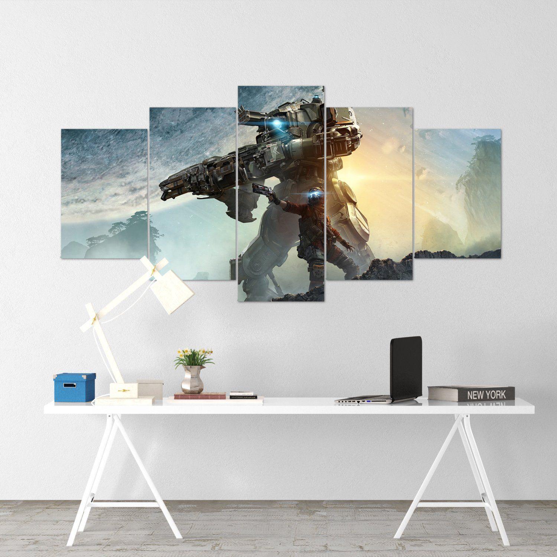 Apex Legends Hero 1 5 Piece Canvas Wall Art Gaming Canvas
