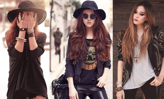 Rock Chic Style Tips With Accessories What Adds To