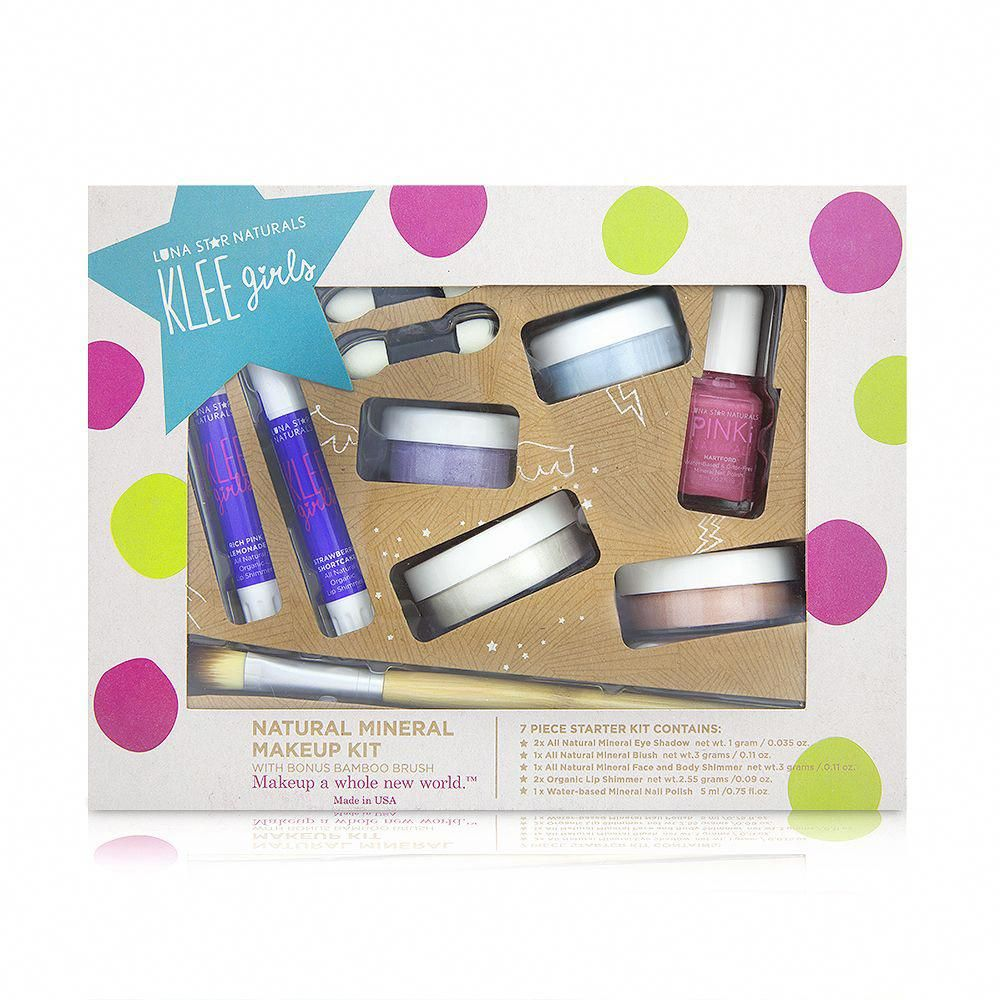 Far and Wide Klee Girls Natural Mineral Makeup 7 Piece