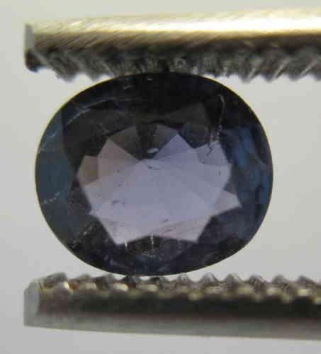 Blue Sapphire oval, Origin Viet Nam: 1,20 ct 7,5 x 6,0 x 3,5 mm - www.kn-jewellery.com