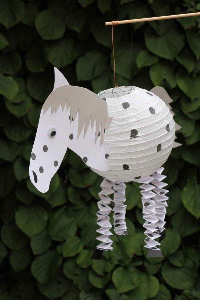 DIY: Pferde-Laterne und Dino-Laterne basteln - Lavendelblog