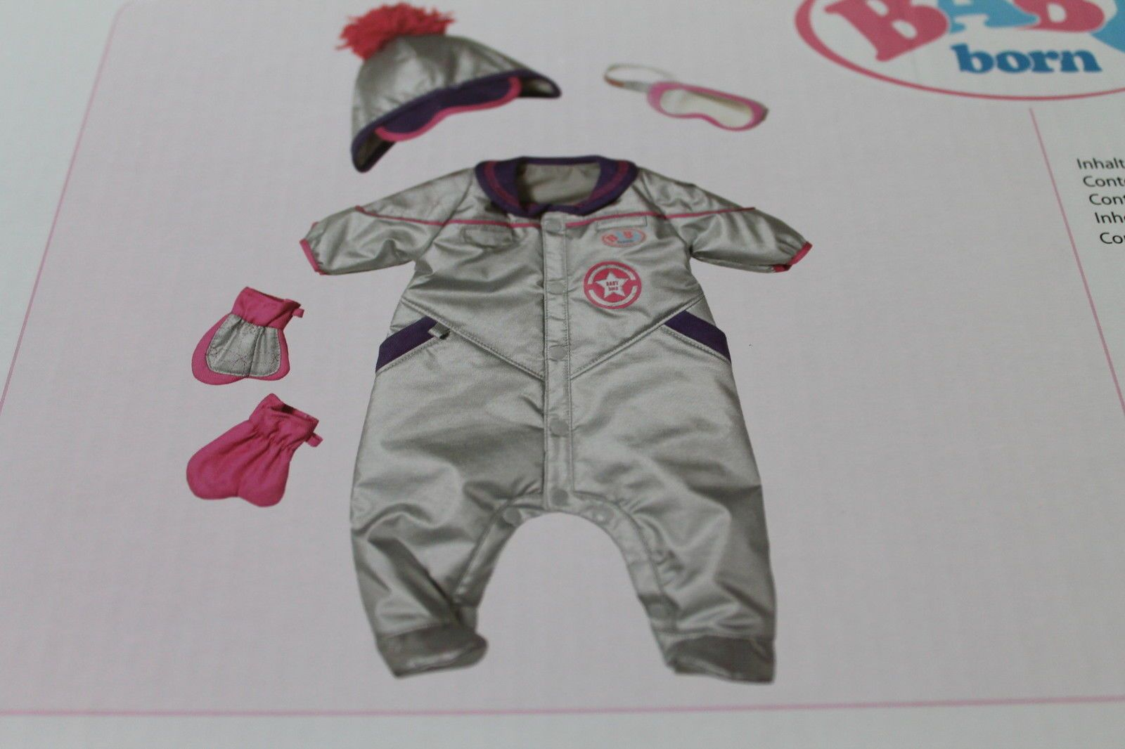 Zapf Creation Baby Born Puppenkleidung Deluxe Set Winter Neu Ovp In Spielzeug Puppen Zubehor Babypuppen Zubehor Eba Zapf Creation Baby Puppenkleidung