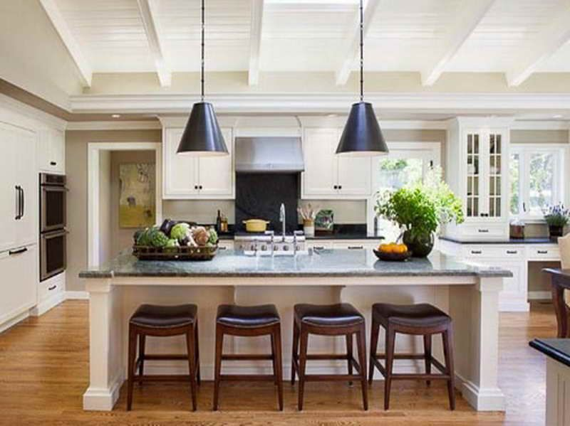 Beau Ina Garten Kitchen Design With Chandeliers (800×599)