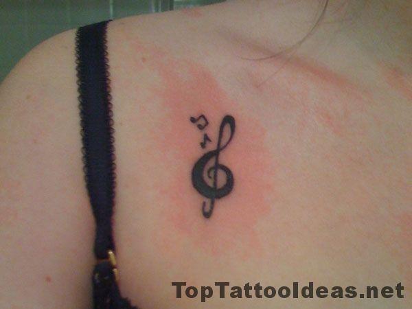 Music Chest Tattoo Ideas Inspiration Top Tattoo Ideas Tattoos For Women Treble Clef Tattoo Tattoos