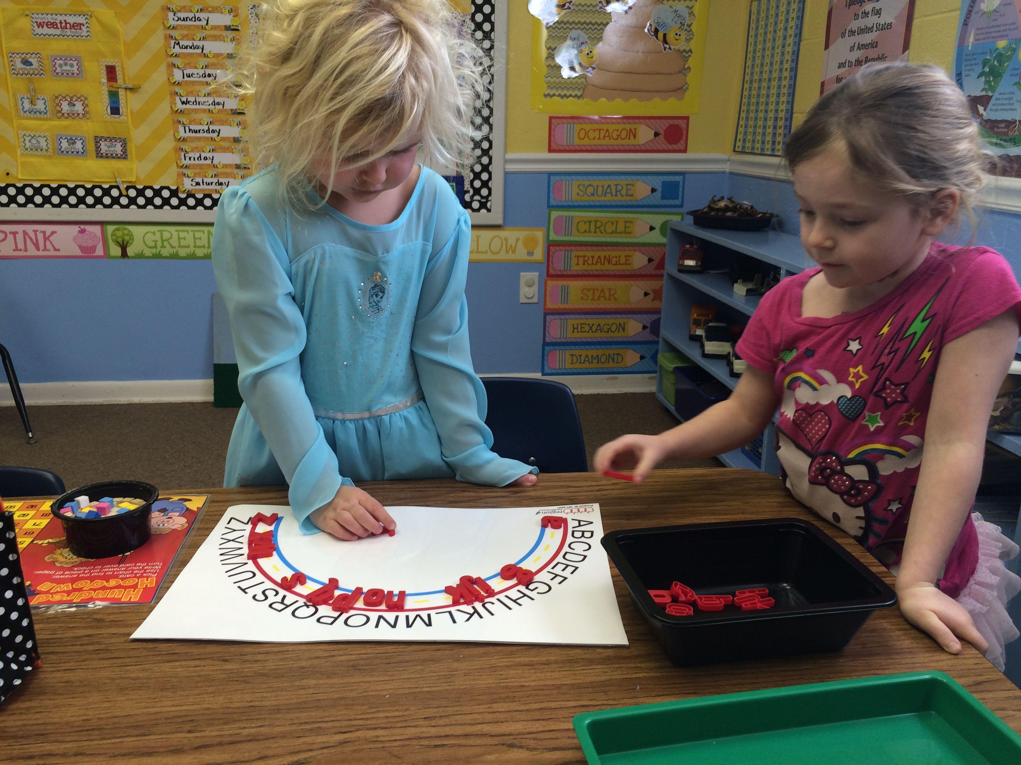 Prekindergarten Literacy Centers With Images
