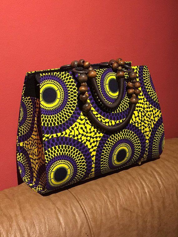 African wax fabric little wallet African wax fabric Small wallet