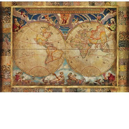 Old world map jigsaw puzzle if you love map puzzles youll love this collection of old world map jigsaw gumiabroncs Choice Image